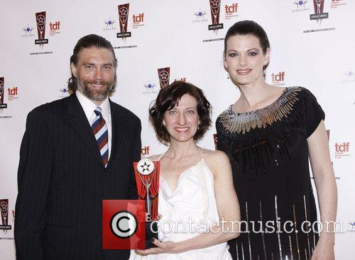 Anson Mount and Kate Shindle