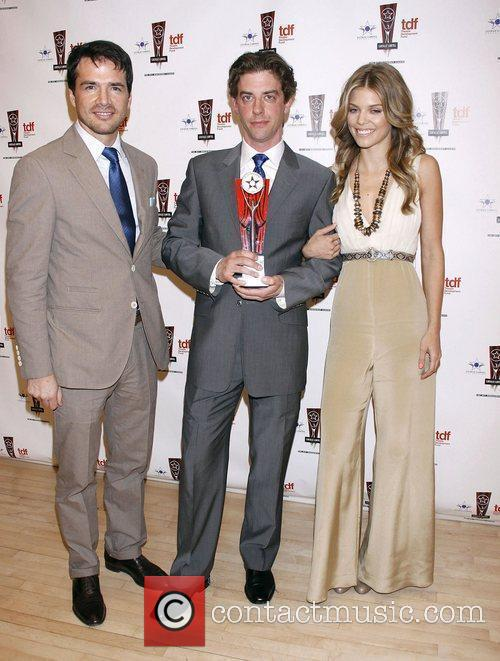 Matthew Settle, Annalynne Mccord and Christian Borle 3
