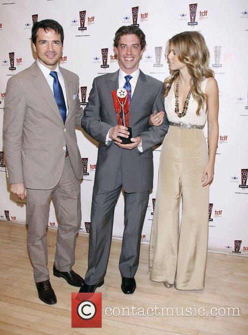 Matthew Settle, Annalynne Mccord and Christian Borle 1