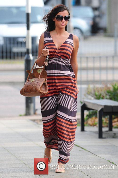Lucy Mecklenburgh  out and about in Brentwood...