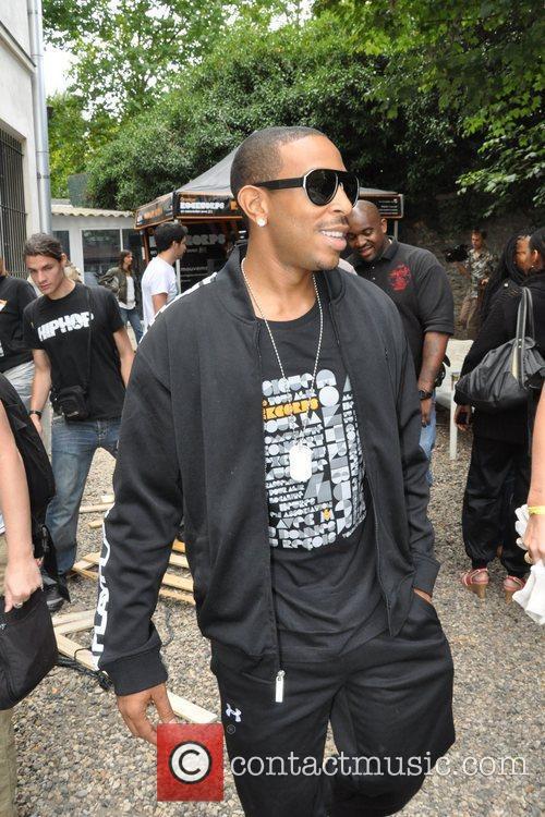 Ludacris is seen arriving at Orange Rock Corps...
