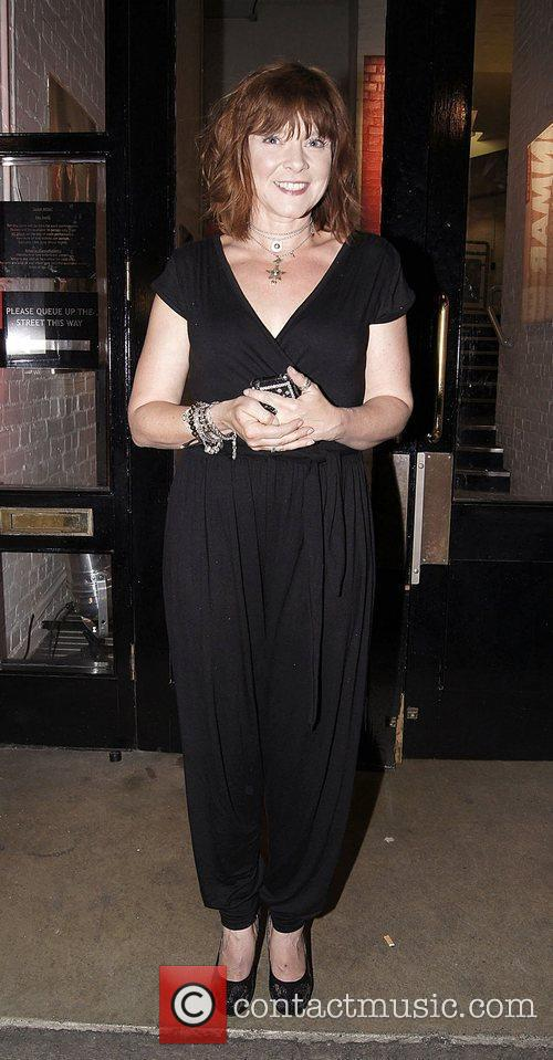 Finty Williams ,  at the press night...