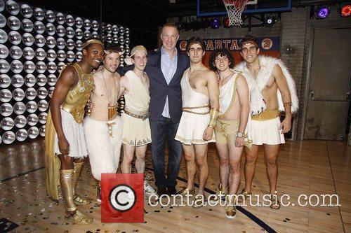 Chris Mullin and the men of Lysistrata Jones...