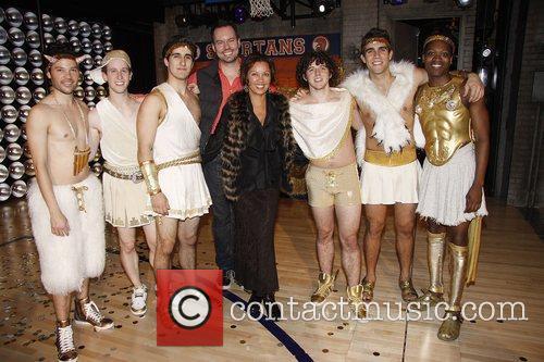 Dan Knechtges, Vanessa Williams and the men of...