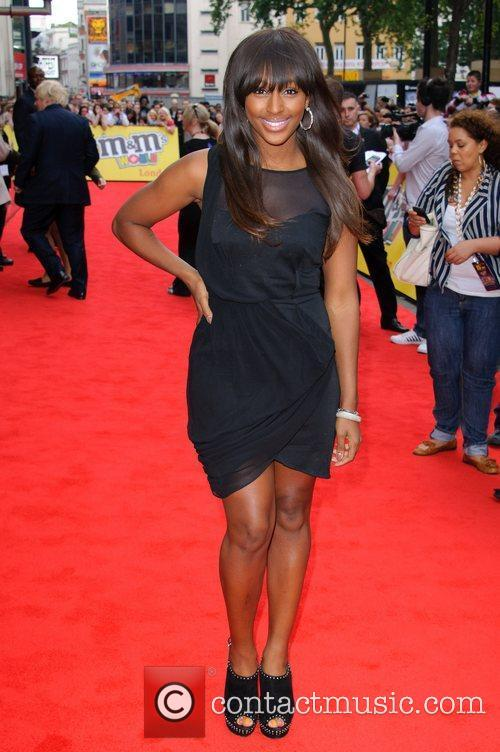 Alexandra Burke Official opening of the M&M's World...