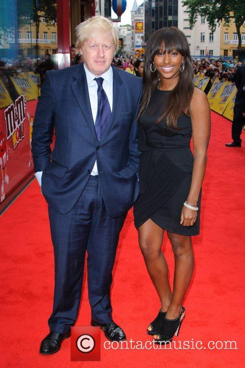 Boris Johnson, Alexandra Burke