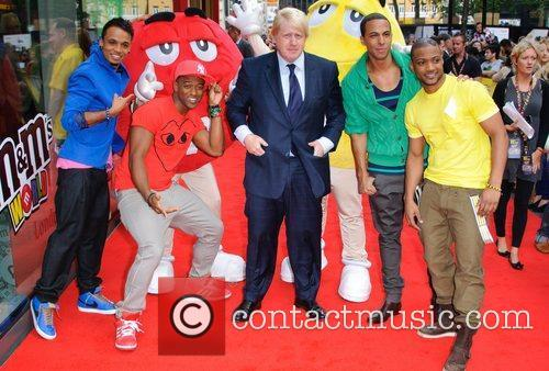 Official opening of the M&M's World London store...
