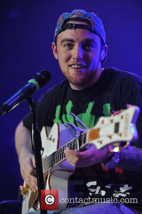 Mac Miller  performs live in concert on...
