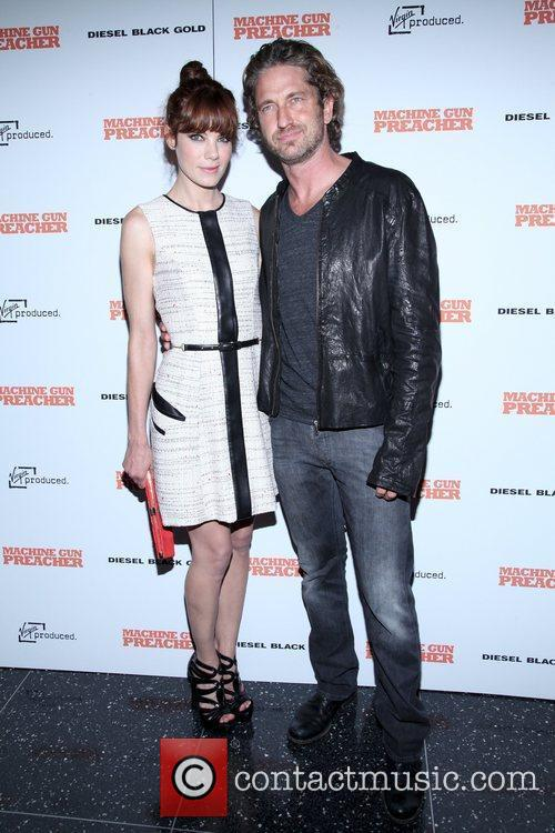 Michelle Monaghan and Gerald Butler  Screening of...