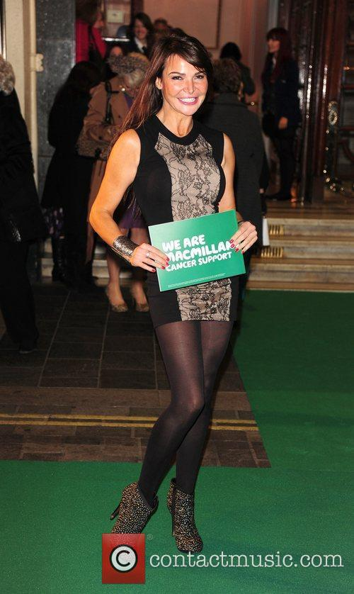 Lizzie Cundy Macmillan Centenary Gala at the London...