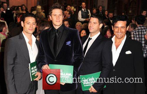 The Jersey Boys Macmillan Centenary Gala at the...