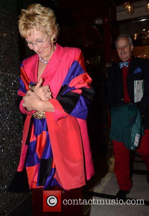 Christine Hamilton and Neil Hamilton Macmillan Centenary Gala,...