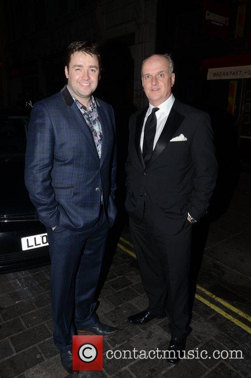 Jason Manford and Peter Dickson  Macmillan Centenary...