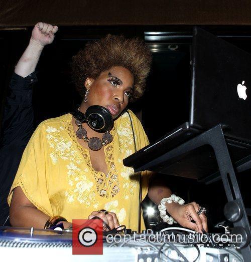Macy Gray DJs at Blush Nightclub at The...
