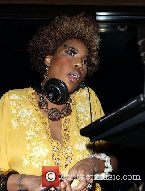 Macy Gray DJs at Blush Nightclub at The...