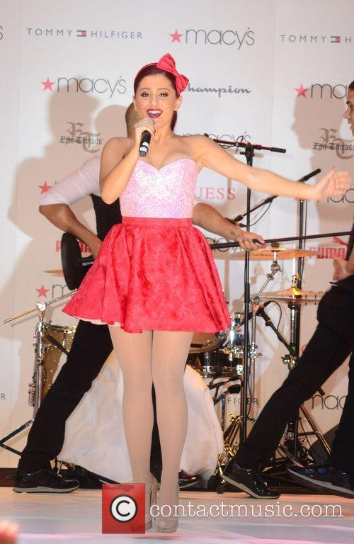 Performing at Macy's Annual Summer Blowout Show.