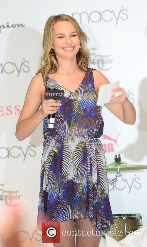 Bridgit Mendler,  performing at Macy's Annual Summer...
