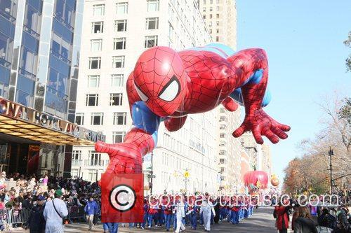 Spider Man and Macy's 1