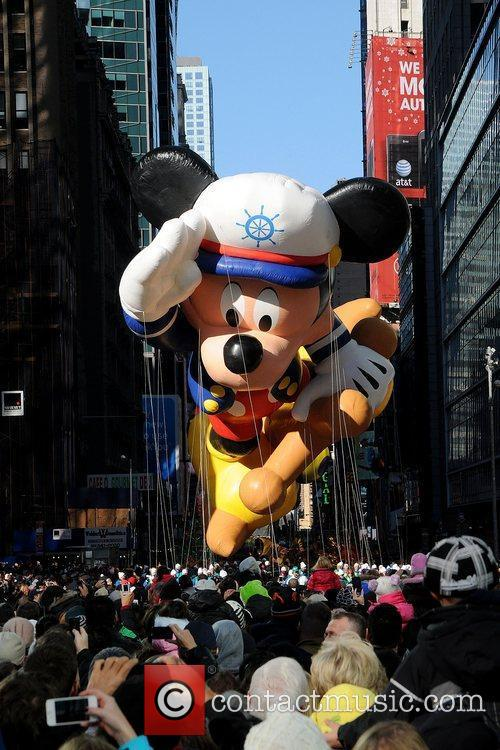 Mickey Mouse and Macy's 4