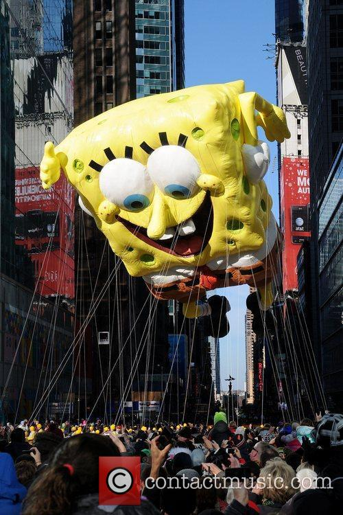 Spongebob Squarepants and Macy's