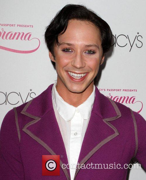 Johnny Weir and Macy's