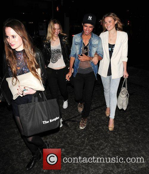 Amber Atherton of 'Made In Chelsea' out in...