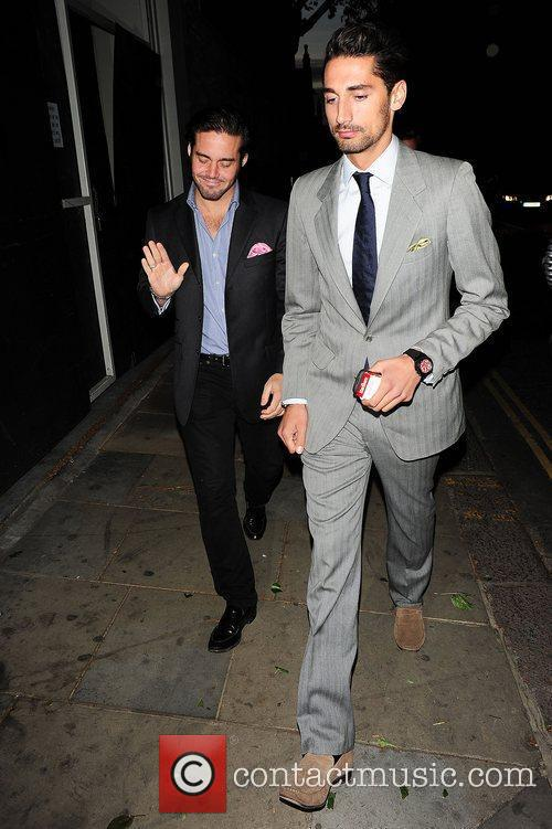 Spencer Matthews and Hugo Taylor of 'Made In...