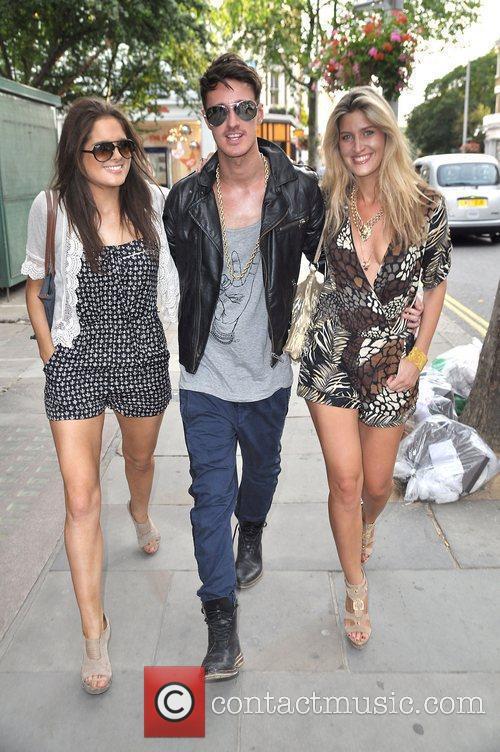 Alexandra 'Binky' Felstead and Francesca 'Cheska' Hull (right),...