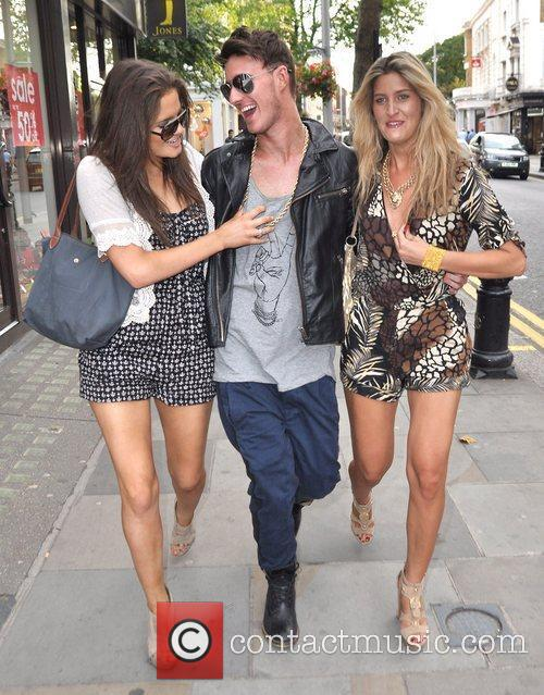 Of reality show 'Made in Chelsea' arrive for...