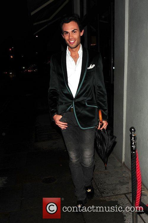 Cast member of 'Made In Chelsea' out in...