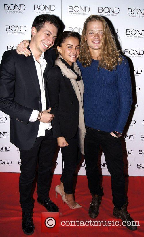 Fredrik Ferrier and friends 'The Chelsea Girls Party'...