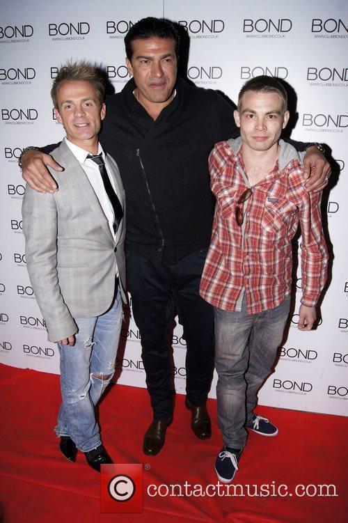 Julian Bennett and Tamer Hassan  'The Chelsea...