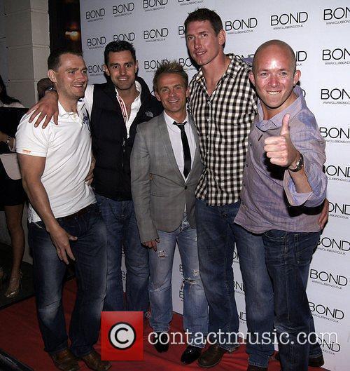 Julian Bennett and friends 'The Chelsea Girls Party'...