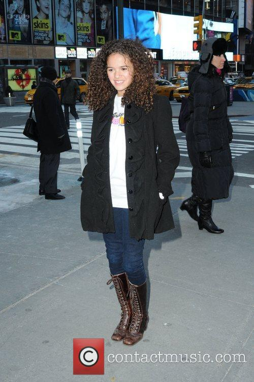 Madison Pettis, Disney, Times Square