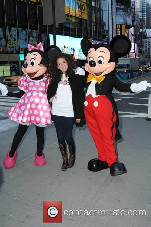 Mickey Mouse and Madison Pettis 6