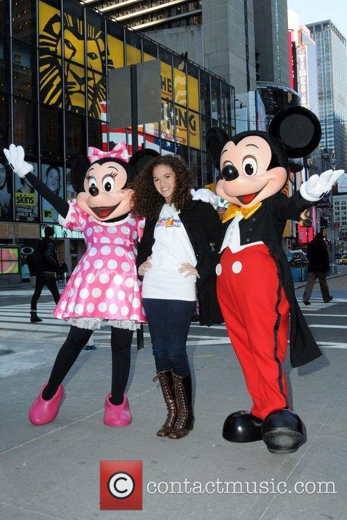 Mickey Mouse and Madison Pettis 7