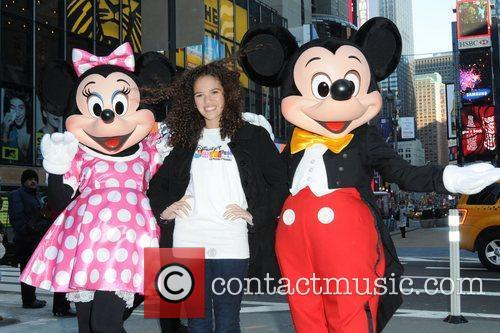 Mickey Mouse and Madison Pettis 4