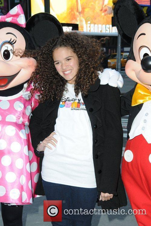 Mickey Mouse and Madison Pettis 1