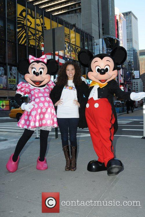 Mickey Mouse and Madison Pettis 9