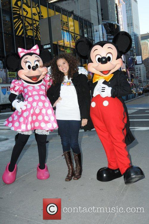 Mickey Mouse and Madison Pettis 3