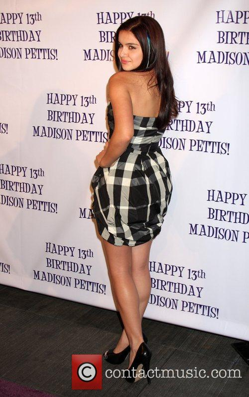 Madison Pettis's 13th birthday party at Eden -...