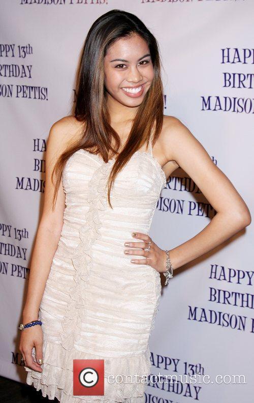 Ashley Argota  Madison Pettis's 13th birthday party...