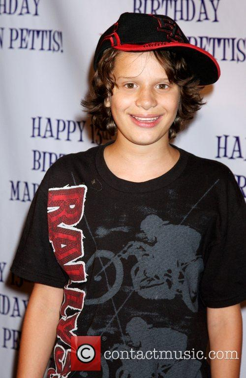 Bobby Coleman  Madison Pettis's 13th birthday party...