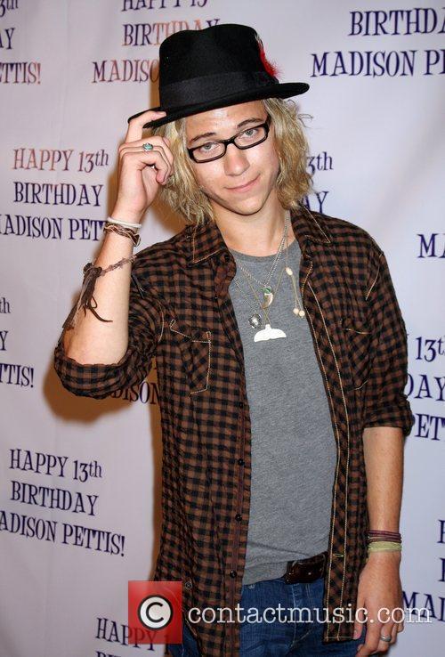 Dillon Lane  Madison Pettis's 13th birthday party...