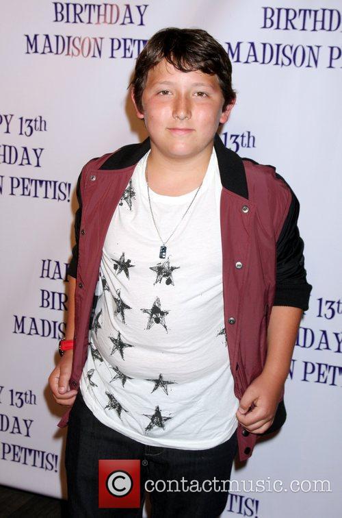 Frankie Jonas Madison Pettis's 13th birthday party at...