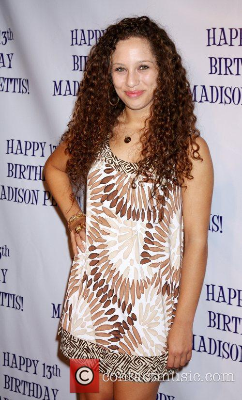 Helene Britany Madison Pettis's 13th birthday party at...