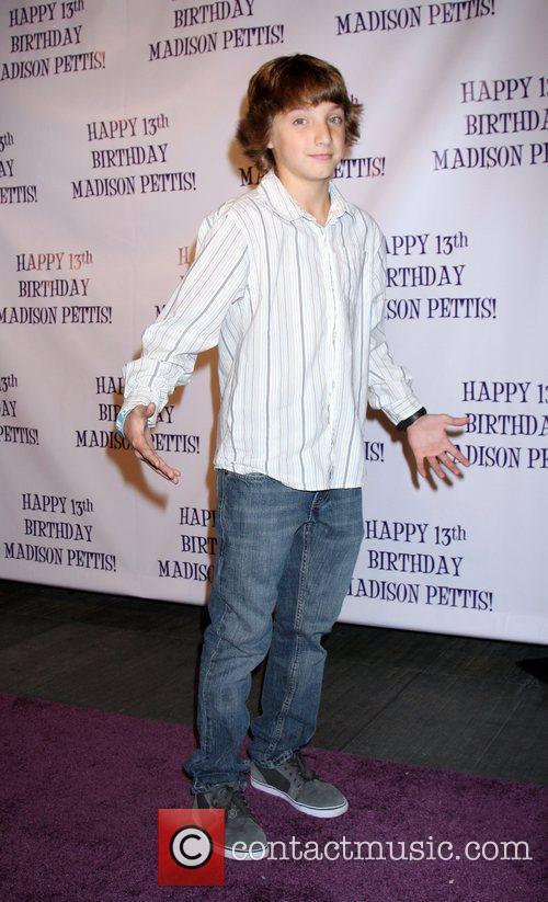 Jake Short Madison Pettis's 13th birthday party at...