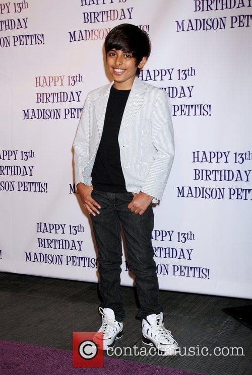 Karan Brar Madison Pettis's 13th birthday party at...