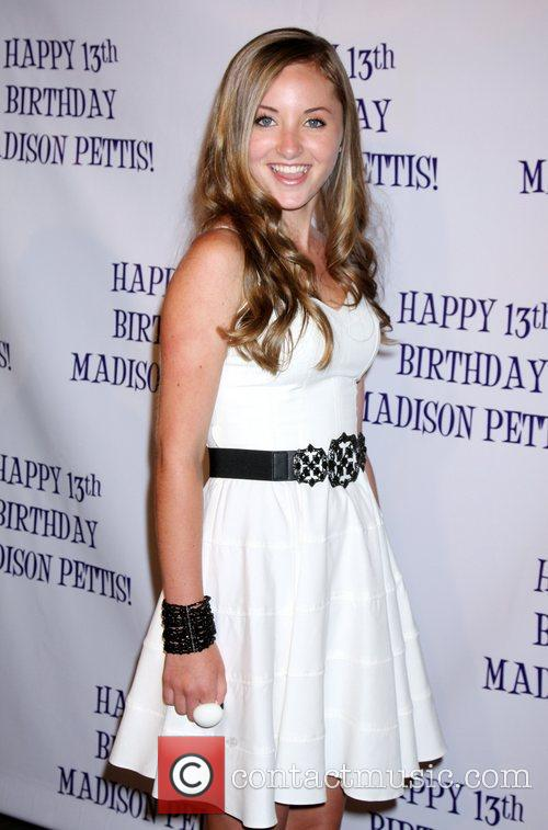 Rachel Fox Madison Pettis's 13th birthday party at...