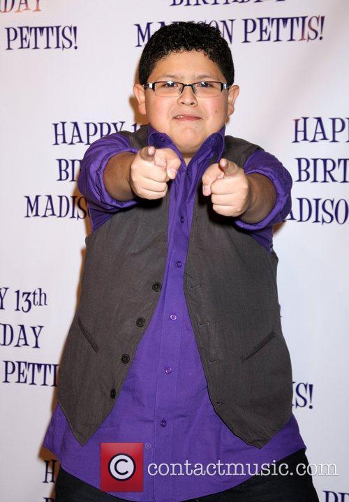 Rico Rodriguez  Madison Pettis's 13th birthday party...